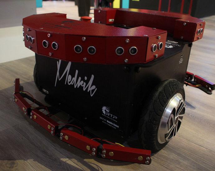 ربات سیار مدریک - RTP Medrik